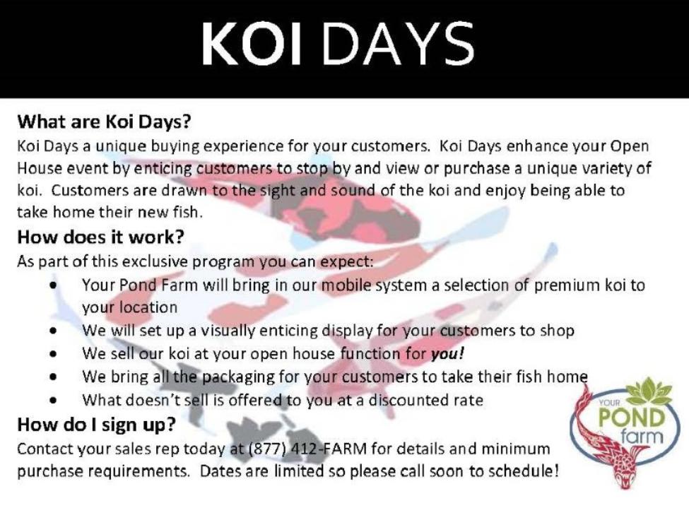 Koi Days!